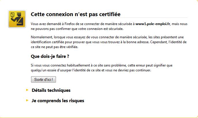 Probleme Site Pole Emploi Internet Forum Fr