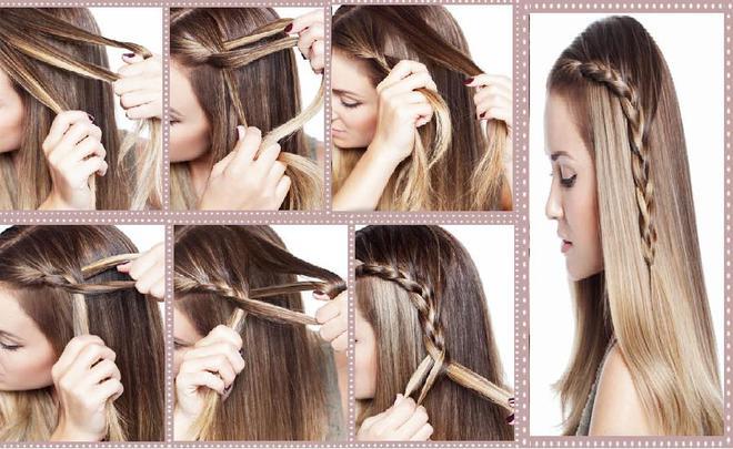 5 coiffures faciles cheveux longs