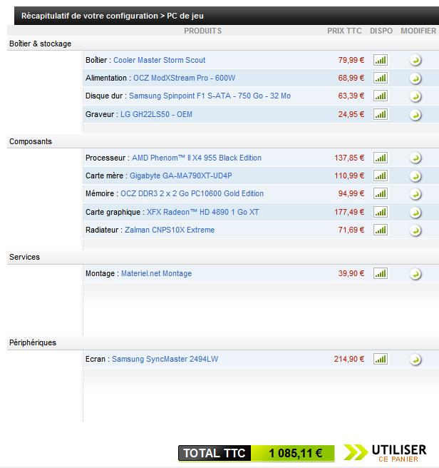 Quel pc choisir page 2 hardware forum fr for Quel moniteur pc choisir