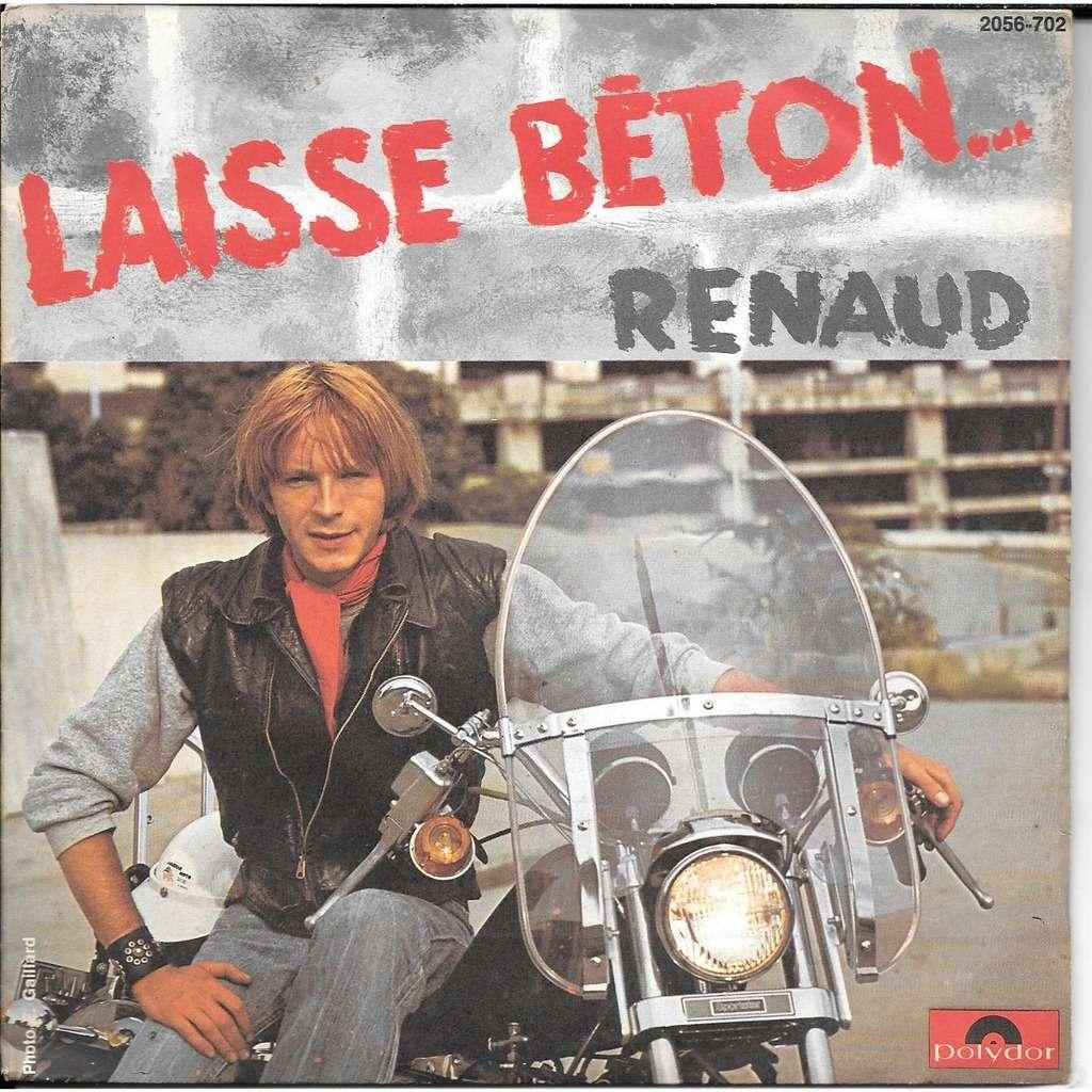 L'argot dans les chansons de Renaud