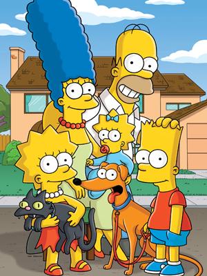 Les Simpson : personnages très connus