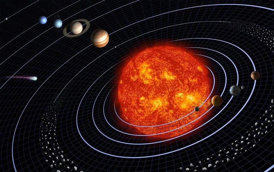 Le système solaire à l'usage des voyageurs de l'espace