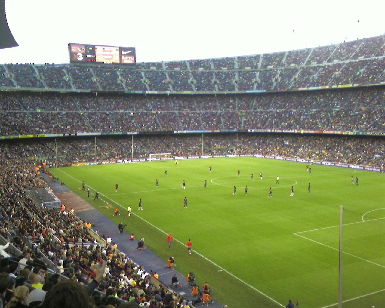 Les stades des grands clubs