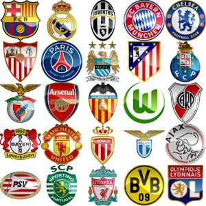 Les logos des clubs de football (Volume I)