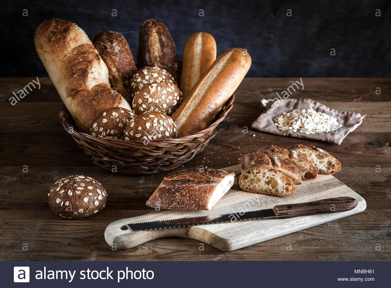 Les variétès de pain 🍞 français.