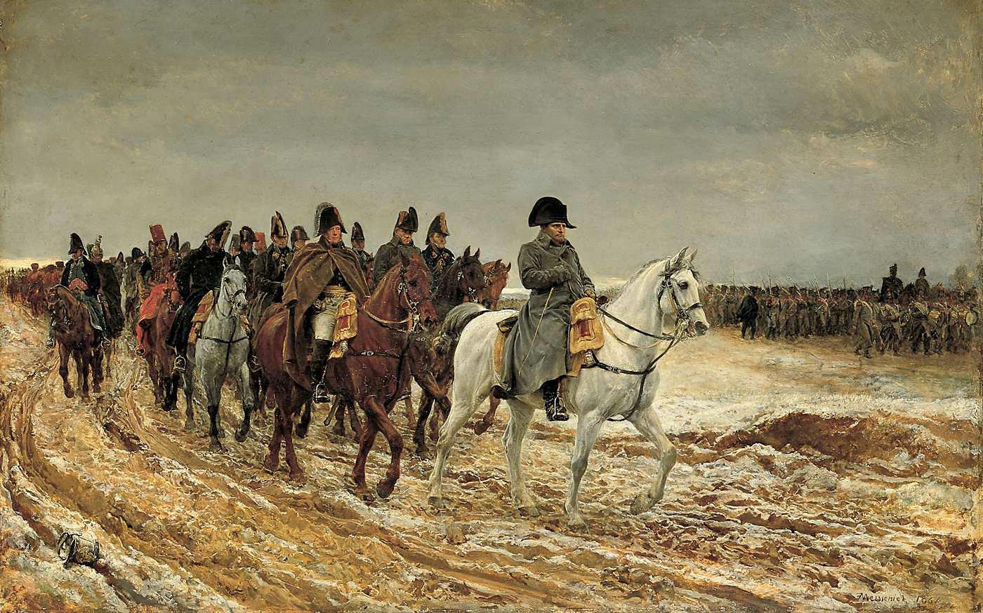 Napoléon. Une bataille = une année